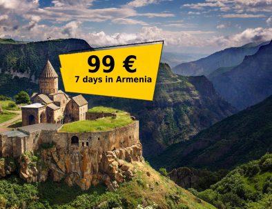 Tour 7 days in Armenia