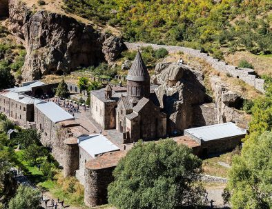 tour to Garni Geghard