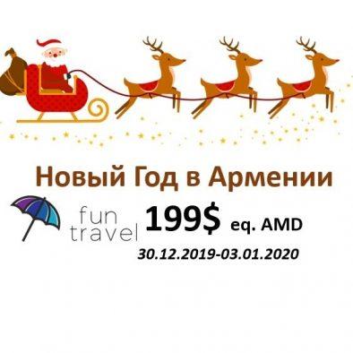 Tour New Year in Armenia
