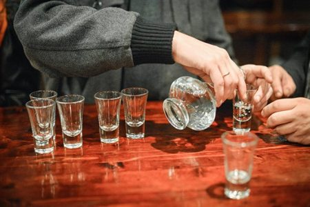 vodka destillation
